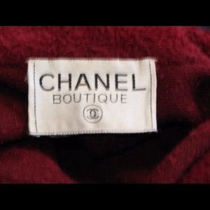 CHANEL Jackets & Coats - Vintage Chanel Boucle Trapeze Coat in Merlot